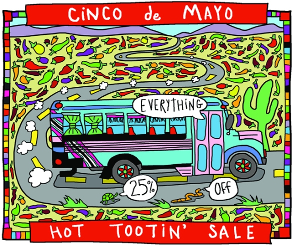 CINCO DE MAYO BUS SMALL