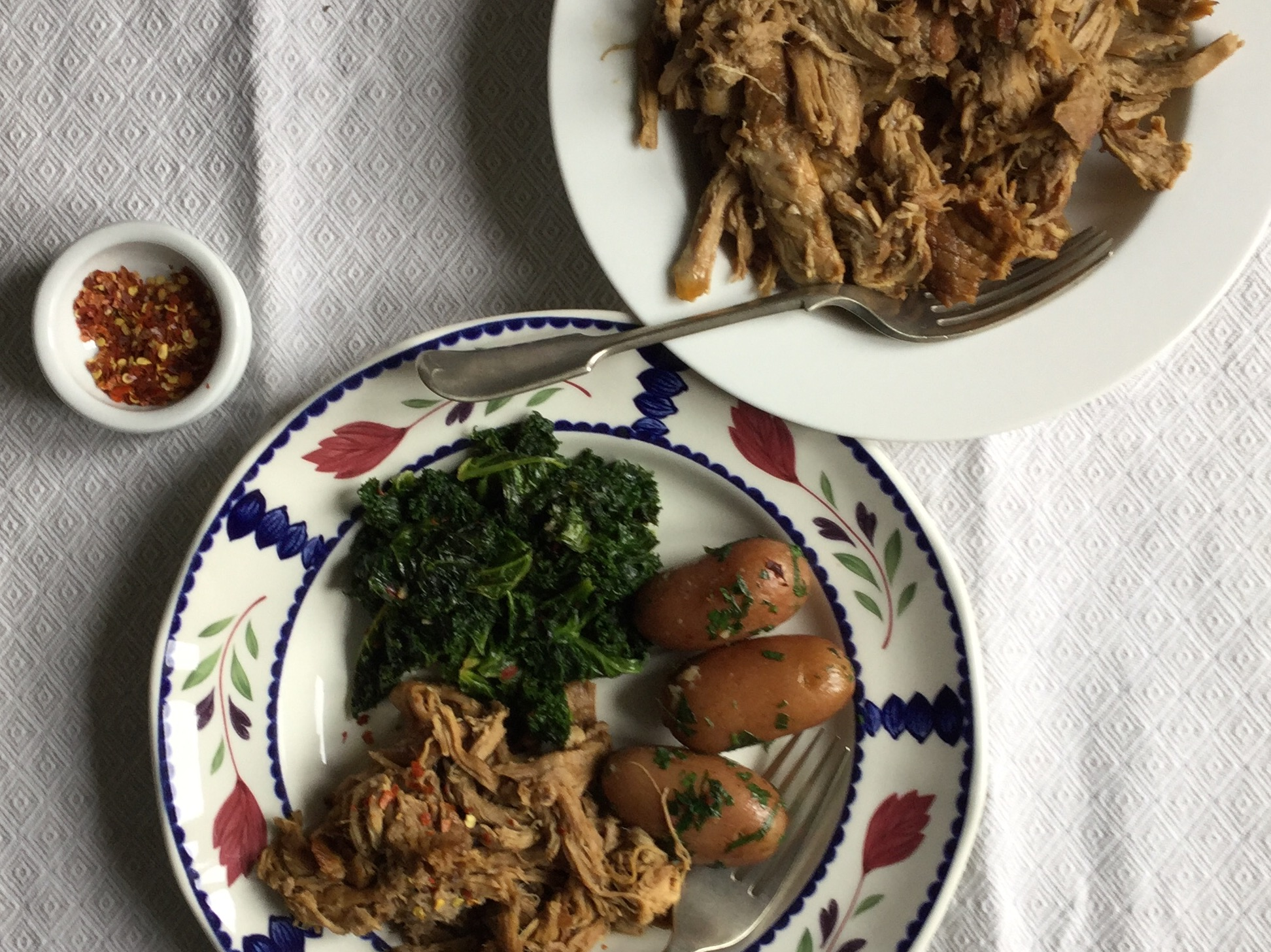 cider-pork-plate-and-serving-dish